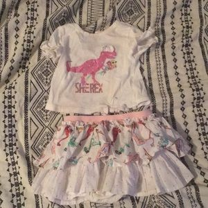 Adorable Dinosaur Girl Outfit